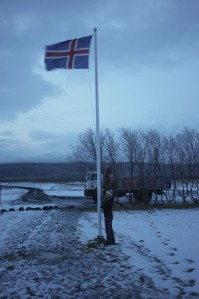 Set the Icelandic flag every day