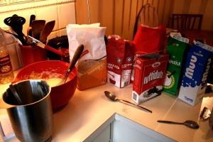 Baking Icelandic Pancakes