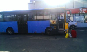 straeto intercity bus
