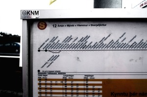 unclear bus schedule
