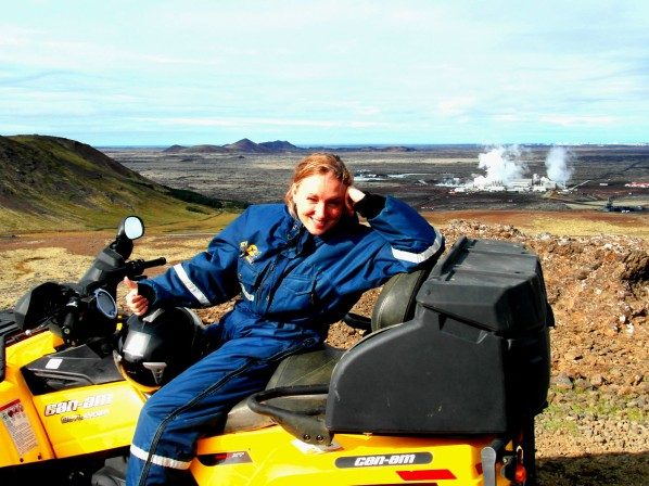 ATV Driving in Iceland