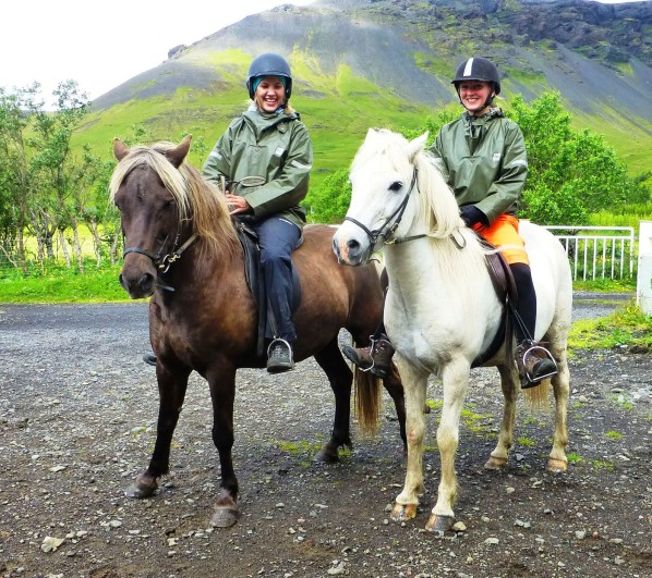 Horseback riding in Iceland on Icelandic Horse