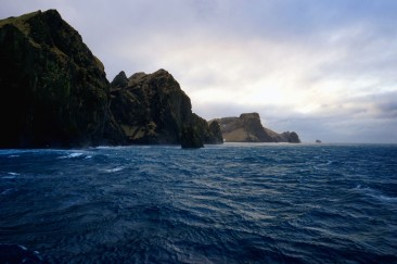 Vestmannaeyjar at the South Coast of Iceland