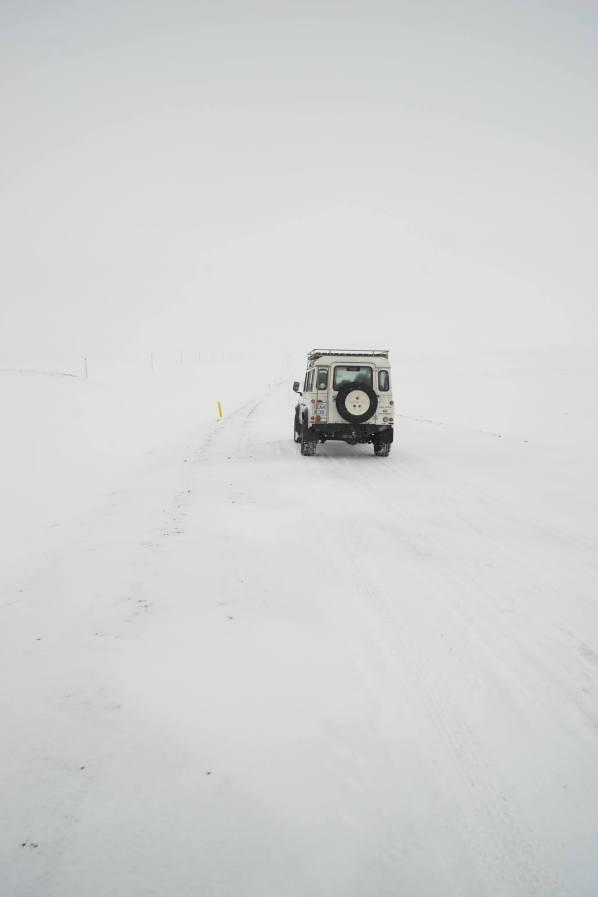 White-out while driving (www.500px.com/benzin, Ben Simon Rehn)