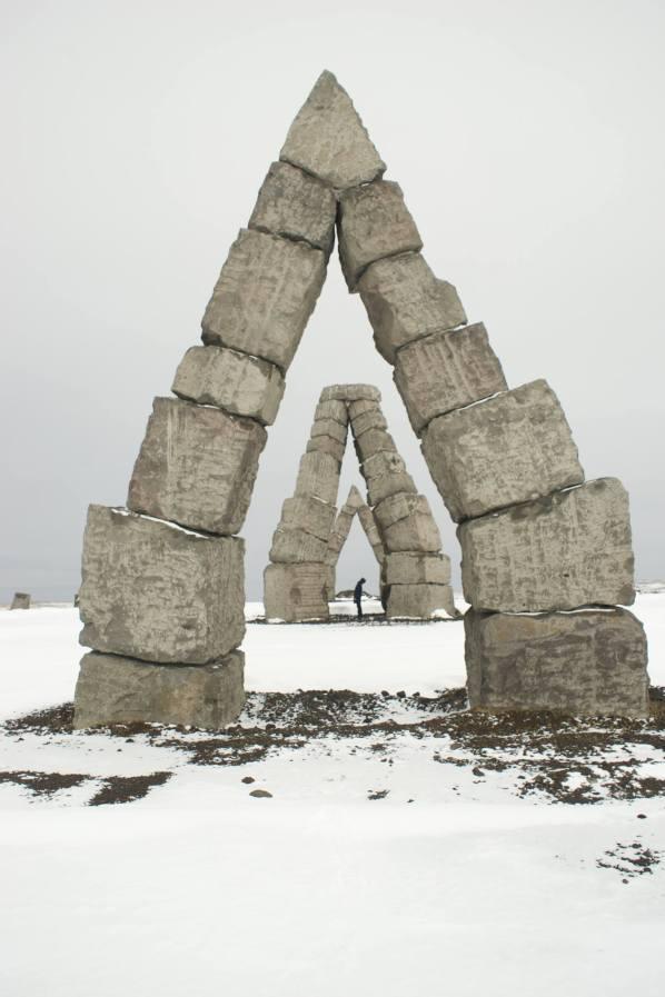 Viking Stone-Hedges in Raufarhöfn