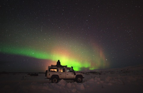 Incredible Night Sky with Northern Lights