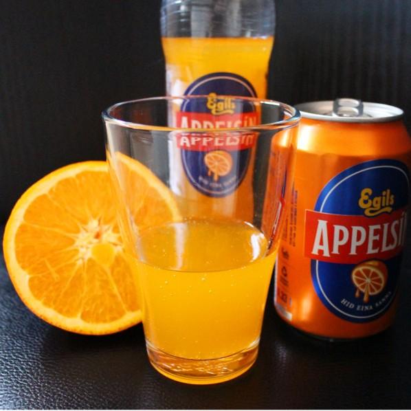 """Icelandic lemonade """"Appelsín"""""""