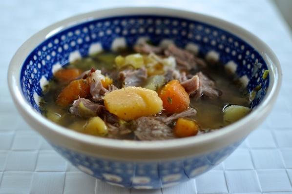 Icelandic Lamb soup - Kjötsúpa