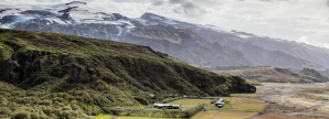 Volcano Huts in Húsadalur