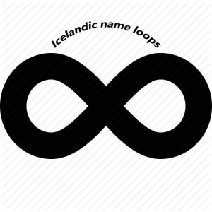 icelandic name loops
